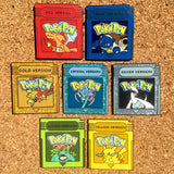 Pokemon Red, Blue, Yellow, Green, Gold, Silver & Crystal Version Hat Pins