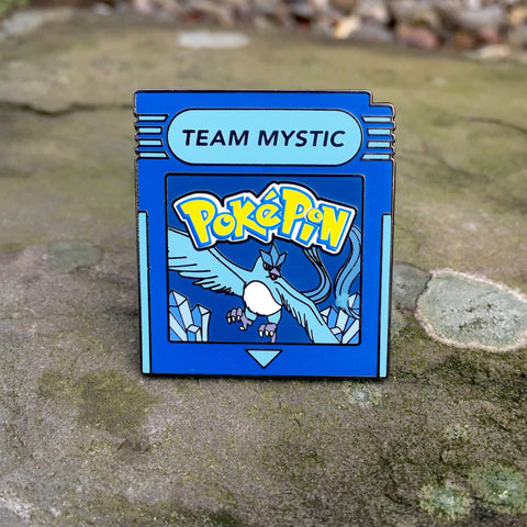 Pokemon Go Team Mystic Cartridge Hat Pin