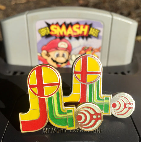 Super Smash Basslights V2 Antique Gold and Silver Set