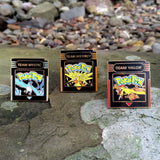 Pokemon Go Team Cartridge Hat Pin Set Limited Edition Black on Gold