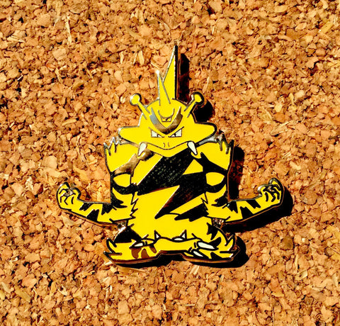 Pokemon Electabuzz Hat Pin V2 Gold