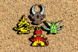 Pokemon Magmar Hat Pin