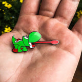 Yoshi Super Smashed Bros. N64 Style Hat Pin