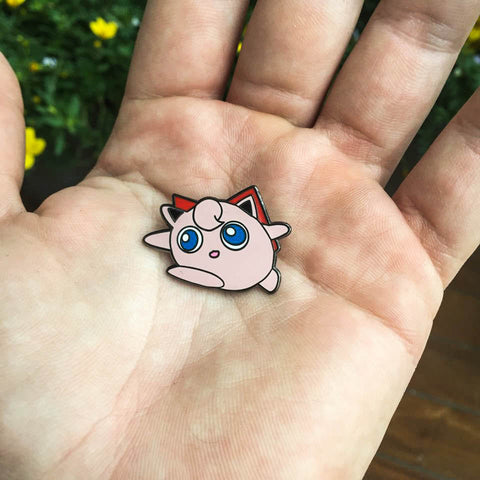 Jigglypuff Super Smashed Bros. N64 Style Hat Pin