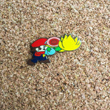 Mario Super Smashed Bros. N64 Style Hat Pin