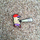 Ness Super Smashed Bros. N64 Style Hat Pin