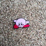Kirby Super Smashed Bros. N64 Style Hat Pin