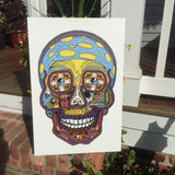 Sublime Sugar Skull Canvas Print