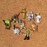 Super Star Wars Bros **FULL SET** Hat Pins