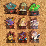 Yugioh Hat Pin Set Nine Collectable Pins