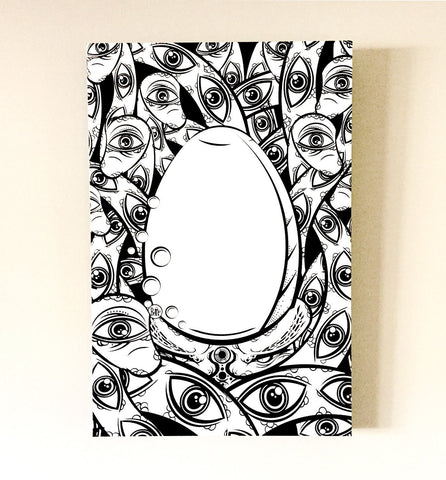 Tenticle Eyes Canvas Print