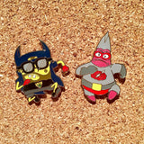 Bluntman and Chronic Hat Pin Set Pat and Silent Bob V2