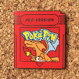 Pokemon Red Version Hat Pin
