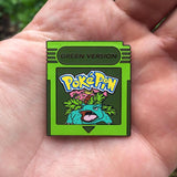 Pokemon Red, Blue, Yellow & Green Version Hat Pins