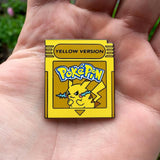 Pokemon Yellow Version Hat Pin