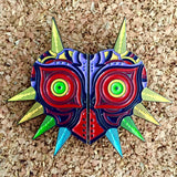 Zelda Majoras Mask Two Piece Hat Pin