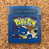 Pokemon Blue Version Hat Pin