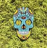 Bassnectar Sugar Skull Hat Pin 2017