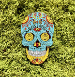 Bassnectar Sugar Skull Hat Pin 2017 (Limited Gold Edition)