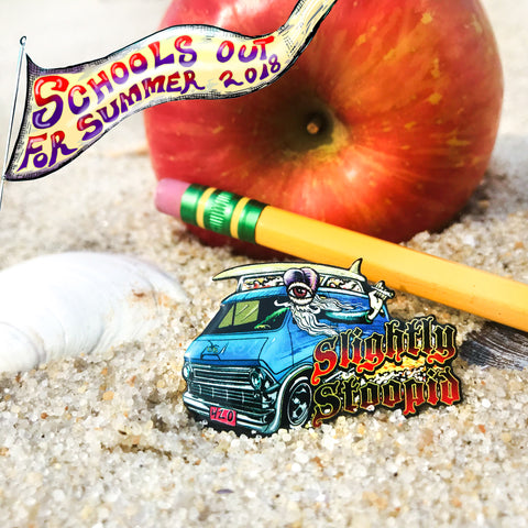 "Slightly Stoopid 2018 ""Schools Out For Summer Tour"" Official Merch Hat Pin"