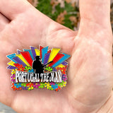 Portugal. The Man Glow in the Dark Hat Pin