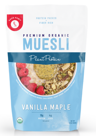 Vanilla Maple - High Protein Muesli (3 PK)