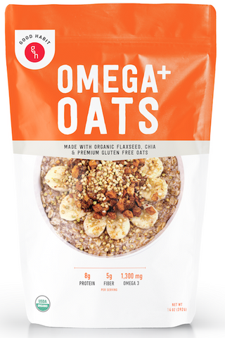 Premium Organic Omega+ Oats with Chia & Flax Seeds (2 PK)
