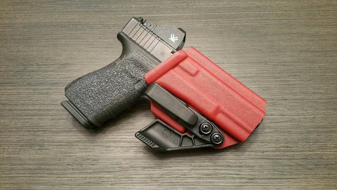Blood Red Glock 19/23/32 IWB Appendix Holster