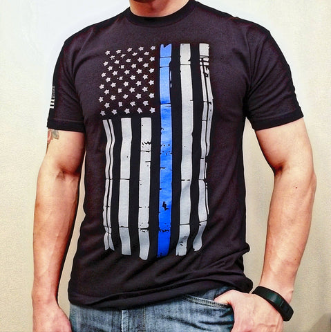 TBL Distressed Flag Tee