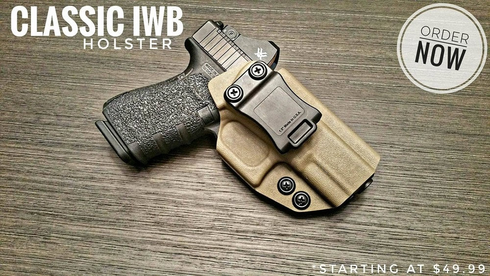 Covert IWB Holster