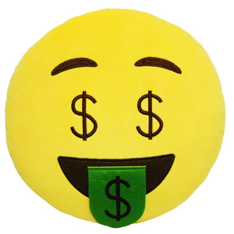 Emoji Pillows - Money