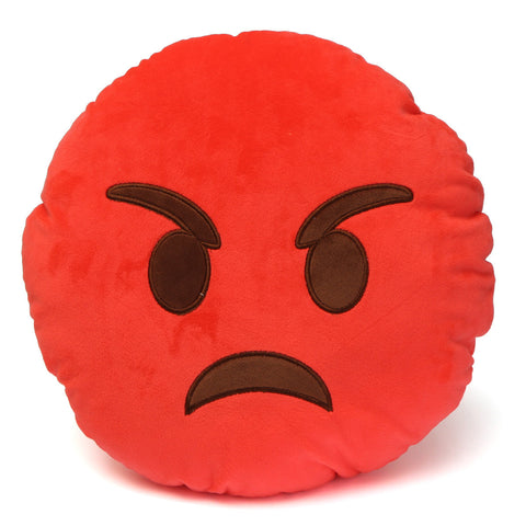 Emoji Pillows - Angry