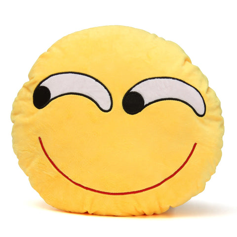Emoji Pillows - Smiley Cattiness