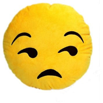 Emoji Pillows - Unamused