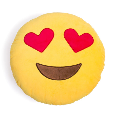 Emoji Pillows - Heart Eyes