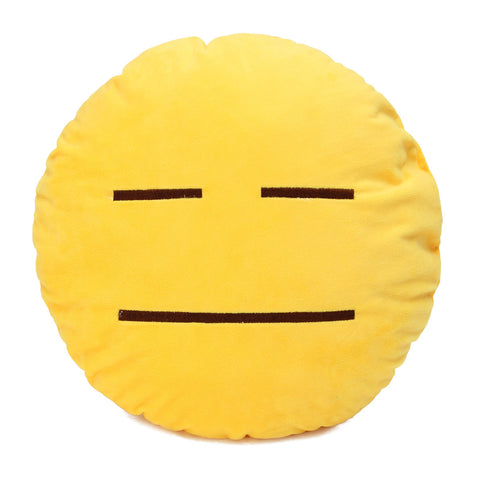 Emoji Pillows - Neutral Face