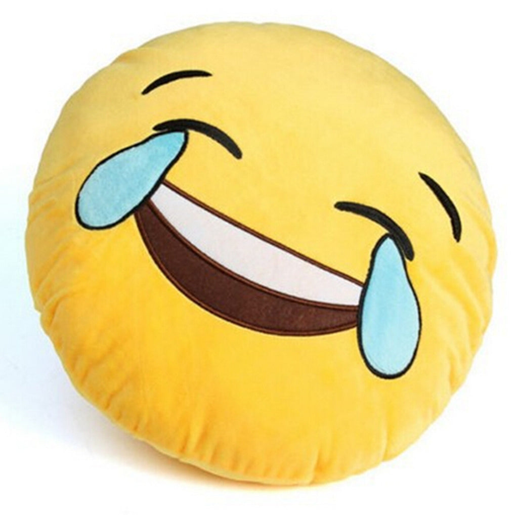 Emoji pillows laughing tears emojis fun emoji pillows laughing tears sciox Gallery