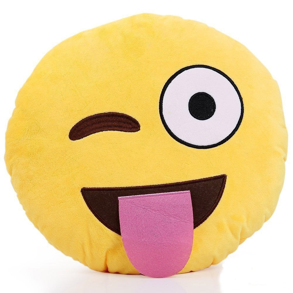 Emoji Pillows - Crazy