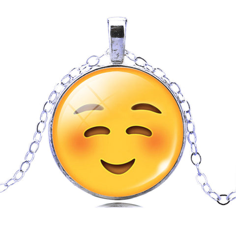 Emoji Necklace - Happy Smile
