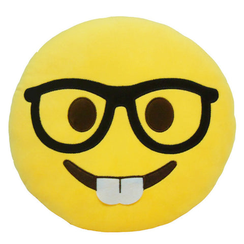 Emoji Pillows - Nerd