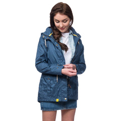 Lighthouse Fearn Womens Waterproof Raincoat in Navy