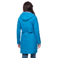 Lighthouse Womens Rayna Waterproof Parka in Sail Away Blue