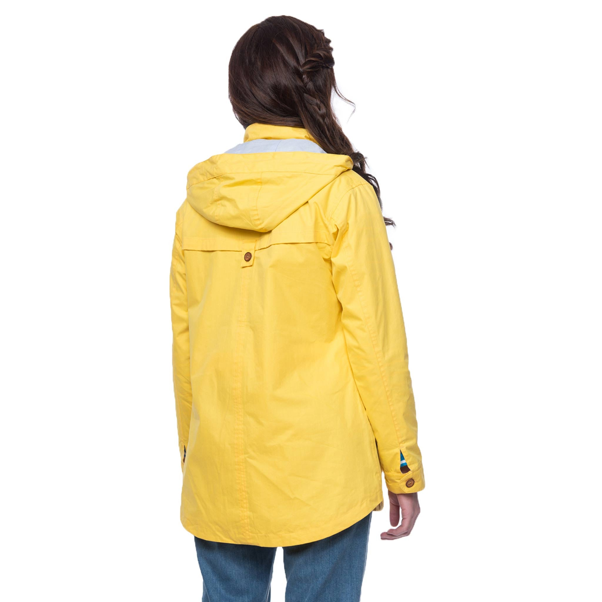 Lighthouse Tori Womens Waterproof Rain Coat in Yellow