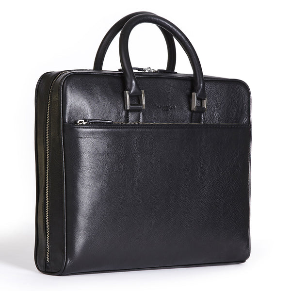 tillingham black calf leather case side