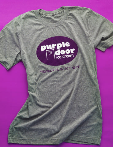 Purple Door logo T-shirt - Adult