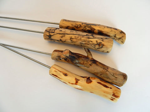 S'mores, Beetle Kill Pine, Kabobs, Grill, Grilling, Camping, Campfire, Bonfire, Colorado, Vail, Artisan, Skewers, S'more Sticks