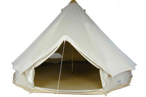 SCG 4m Ultimate Bell Tent with Zippable (Zipped In) Groundsheet