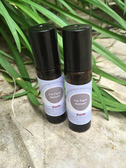 Natural face serum with essential oils