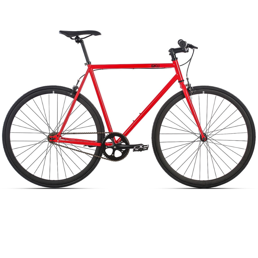 Reiðhjól - Hjól - Single speed - Fixed gear - Cayenne - 6KU