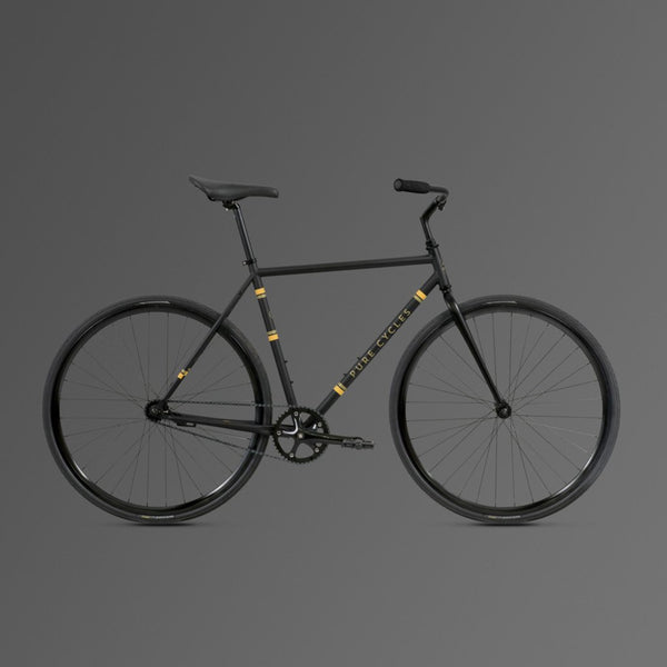 Reiðhjól - Hjól - Single speed - Fótbremsa - Pure Cycles - Coaster - Flatback